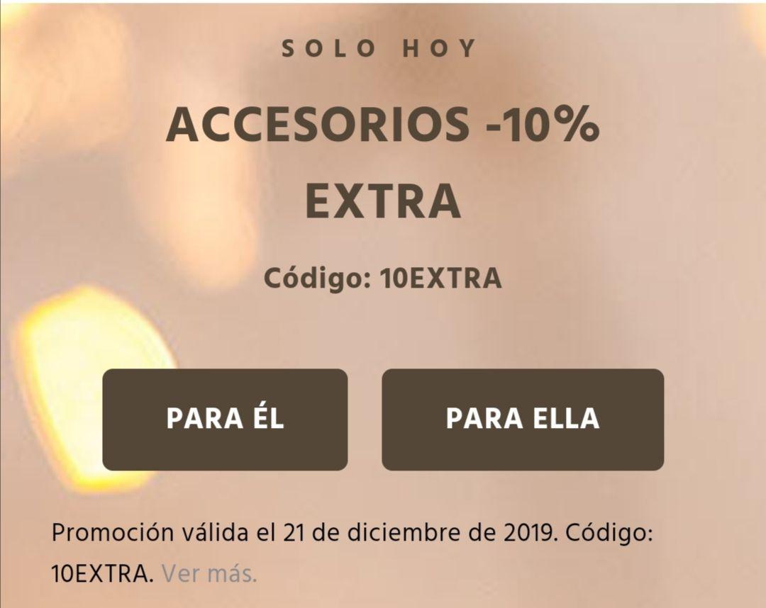 -10% extra en accesorios