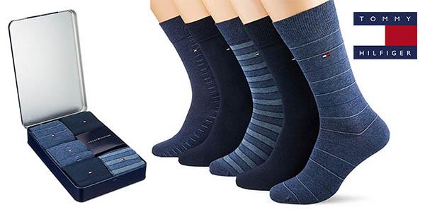 Chollazo Pack x5 Calcetines Tommy Hilfiger para hombre por sólo 20,95€, 35% de Ahorro (AMAZON)