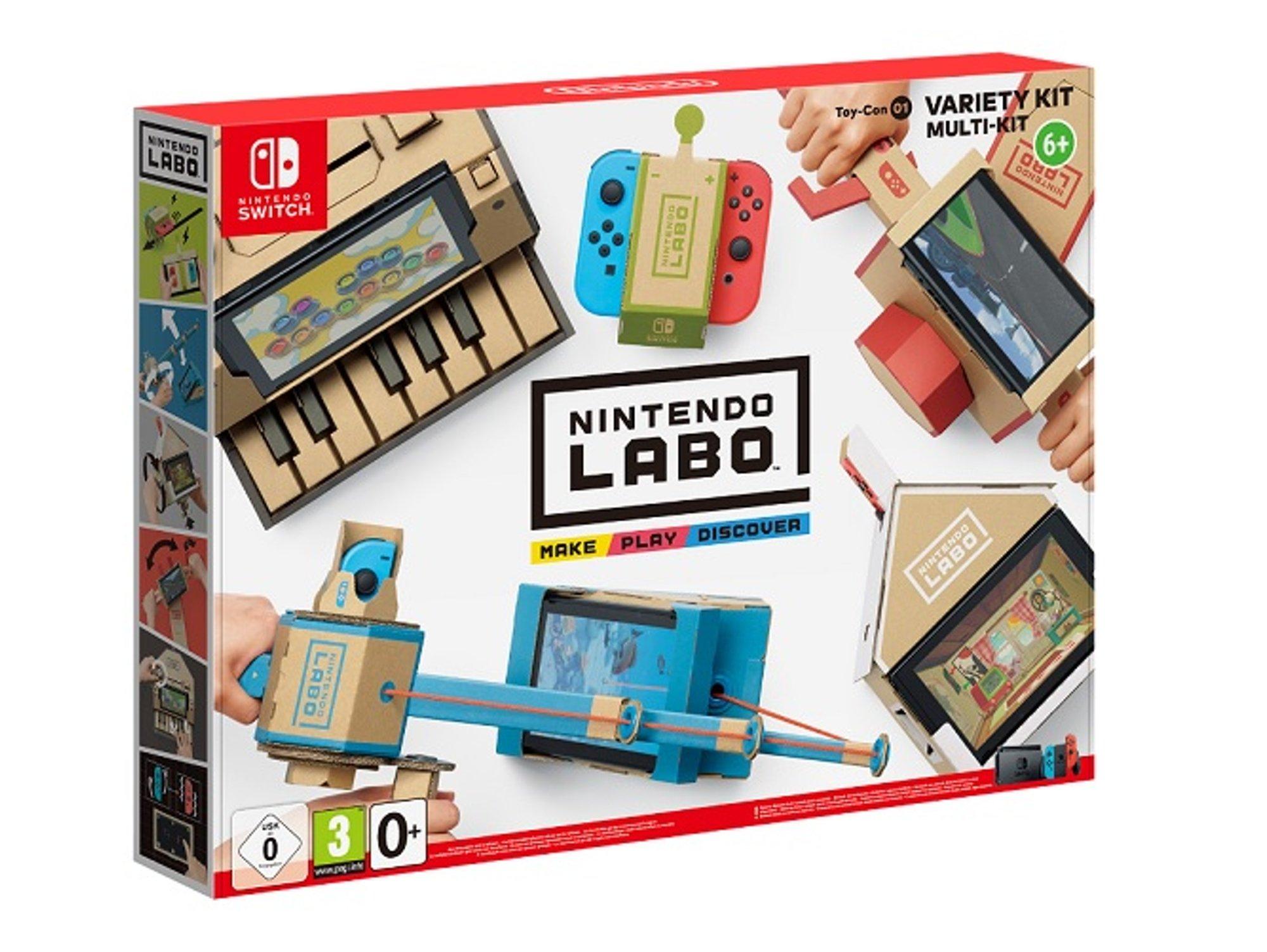 Kit Variado para Nintendo Switch LABO + 5.8€ en Cheque