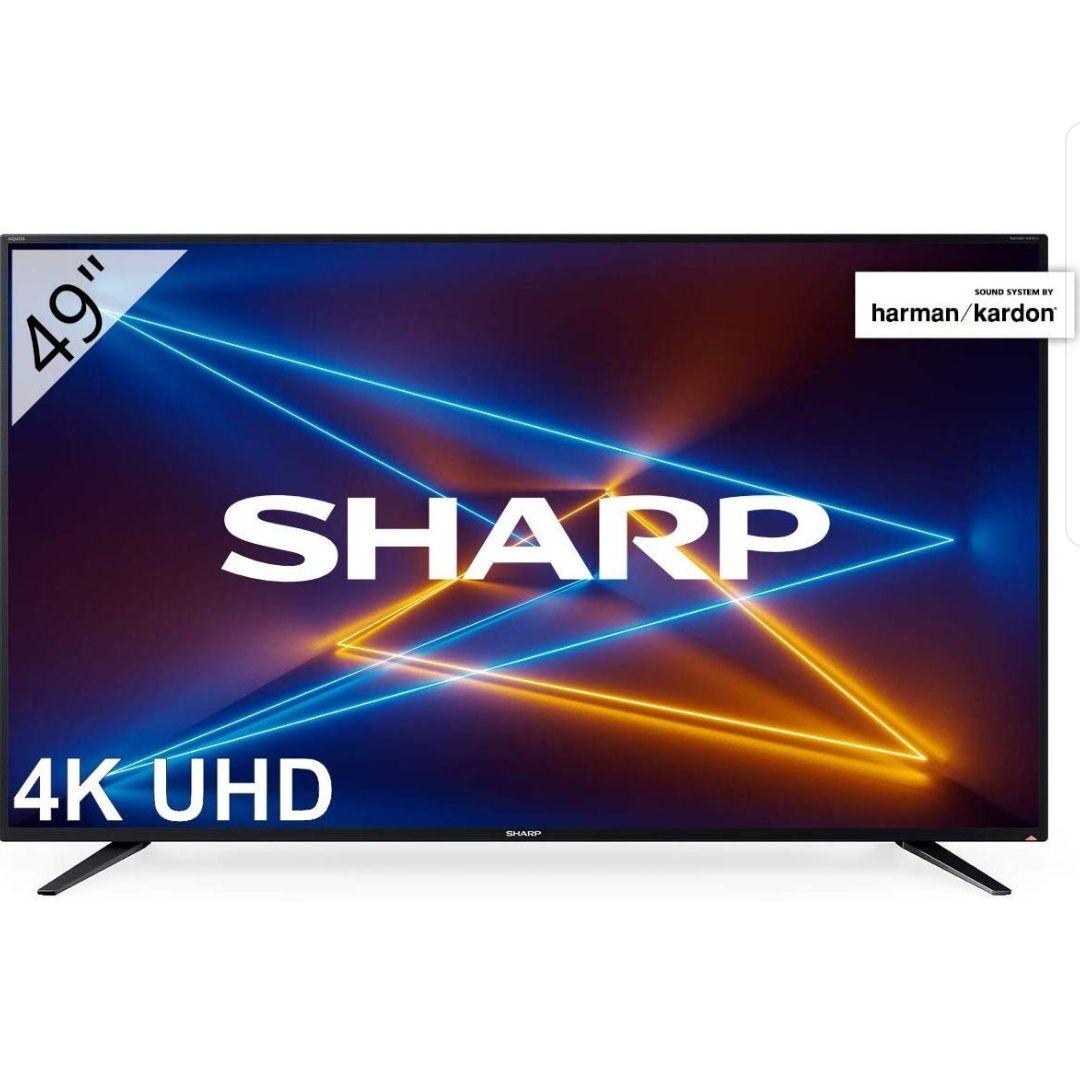 "SmartTV Sharp 49"" 4K reaco muy bueno"