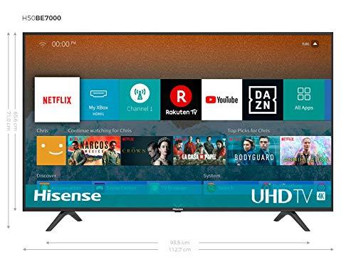 Hisense H50BE7000 - Smart TV 50' 4K Ultra HD