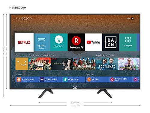"Hisense H65BE700 - Smart TV 65"", 4K Ultra HD"