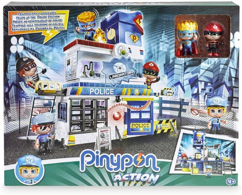 Estación de policía Pinypon action