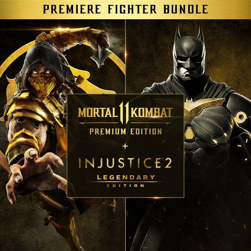 Pack Mortal Kombat 11 - Injustice 2 PS4 (usuarios plus)