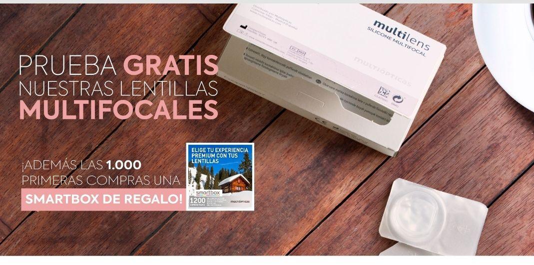 Lentillas multifocales Gratis+1000 Smartbox de Regalo