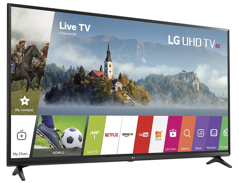 SmartTV 43'' LG 43UJ620V 4K Ultra HD