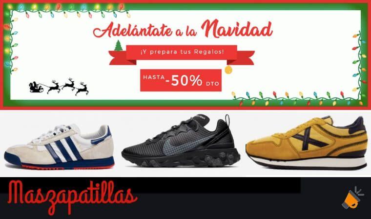 ¡NAVIDAD EN MASZAPATILLAS! Hasta -50% en Nike, Fila, Adidas y más