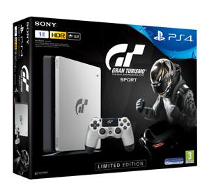 PS4 Slim 1TB Edición Especial GT Sport + Gran Turismo Sport 271€