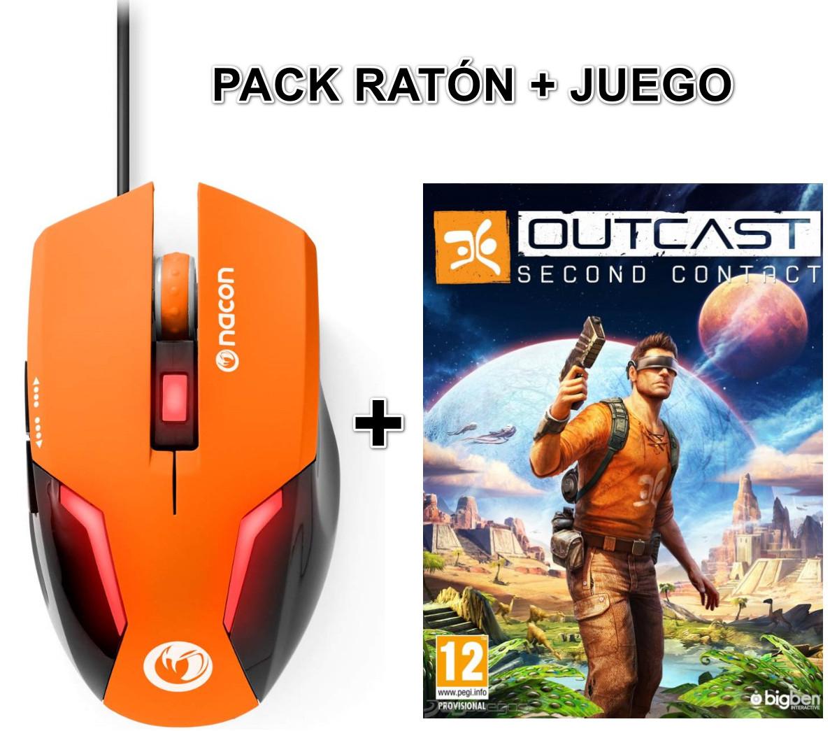 PC: Outcast: Second Contact (digital)+ Ratón GM-105