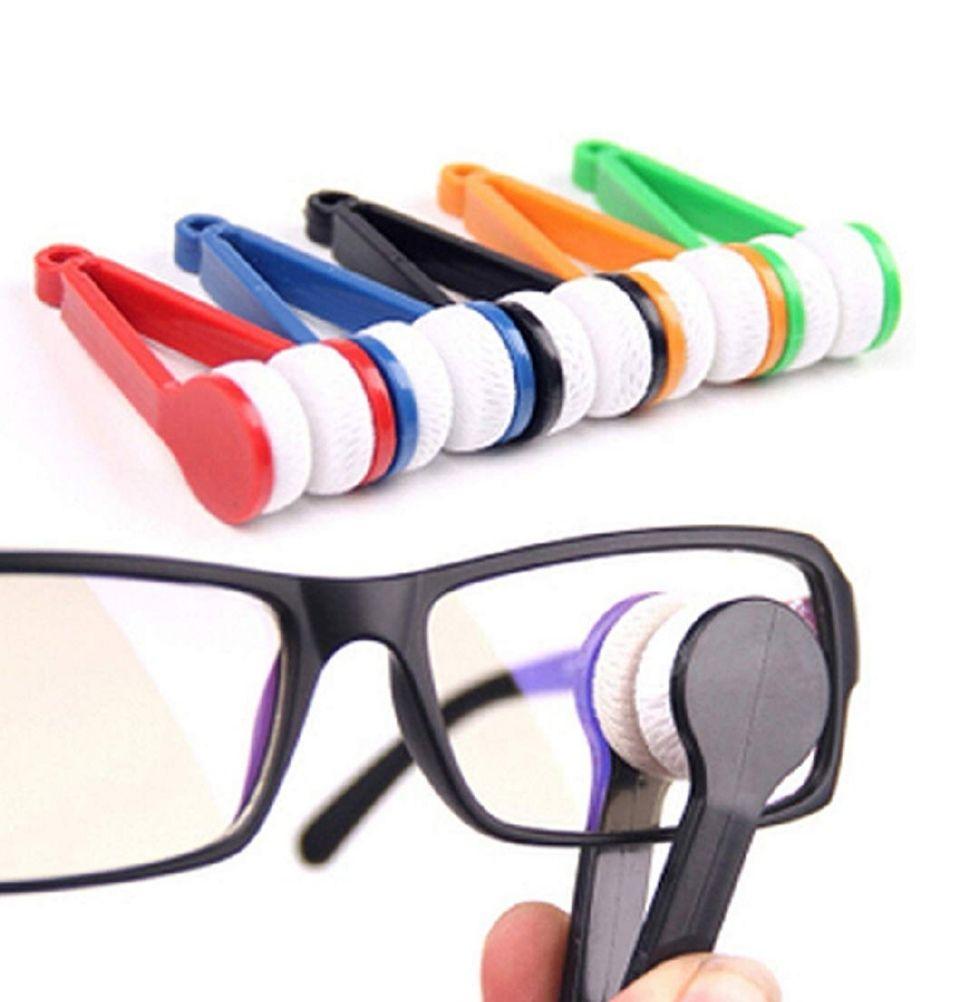 5 cepillos de Microfibra, limpiador de gafas.