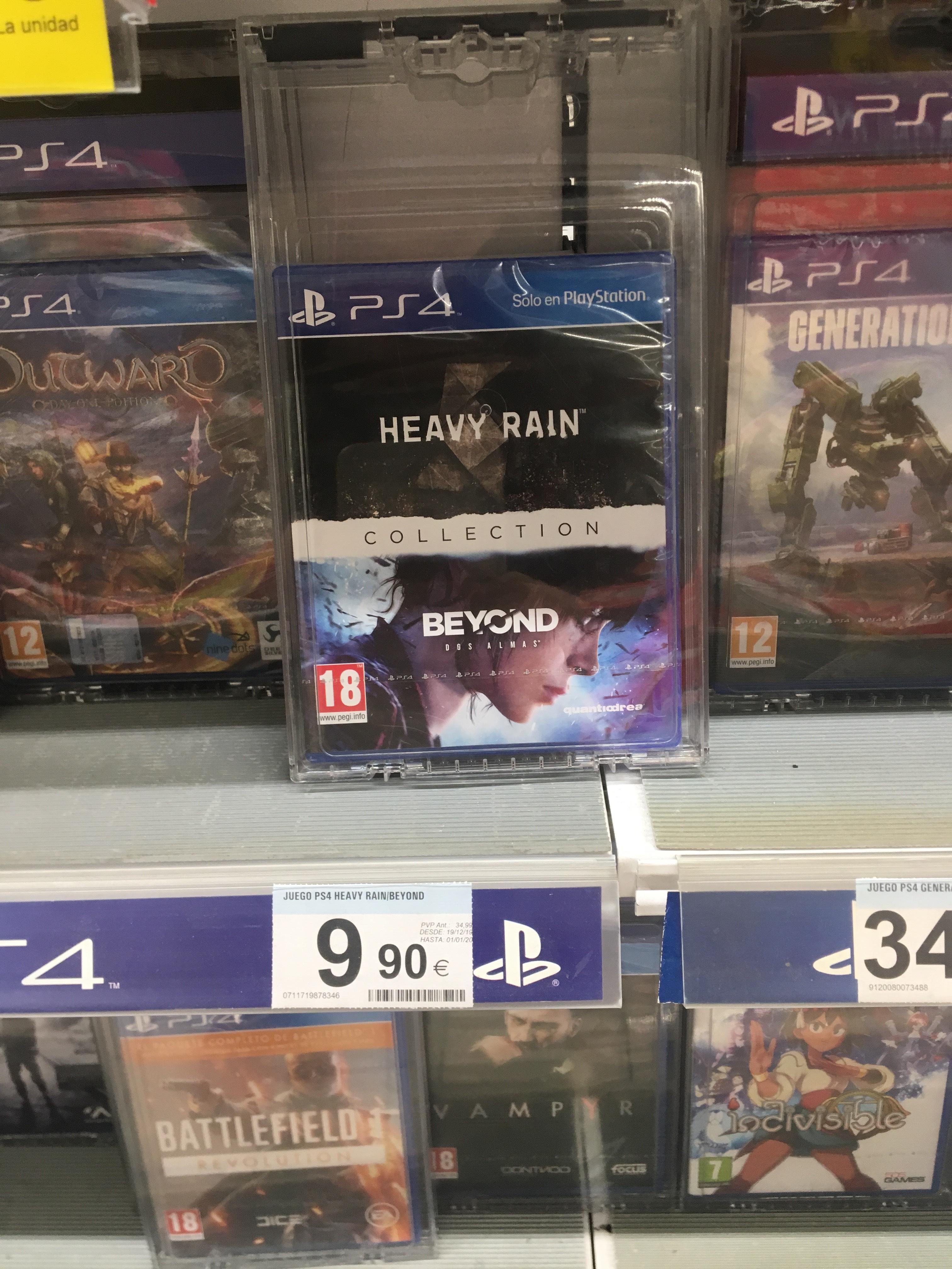 Juego PS4 Heavy rain & Beyound colection