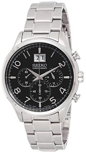 Seiko Reloj Cronógrafo para Hombre de Cuarzo con Correa en Acero Inoxidable SPC153P1