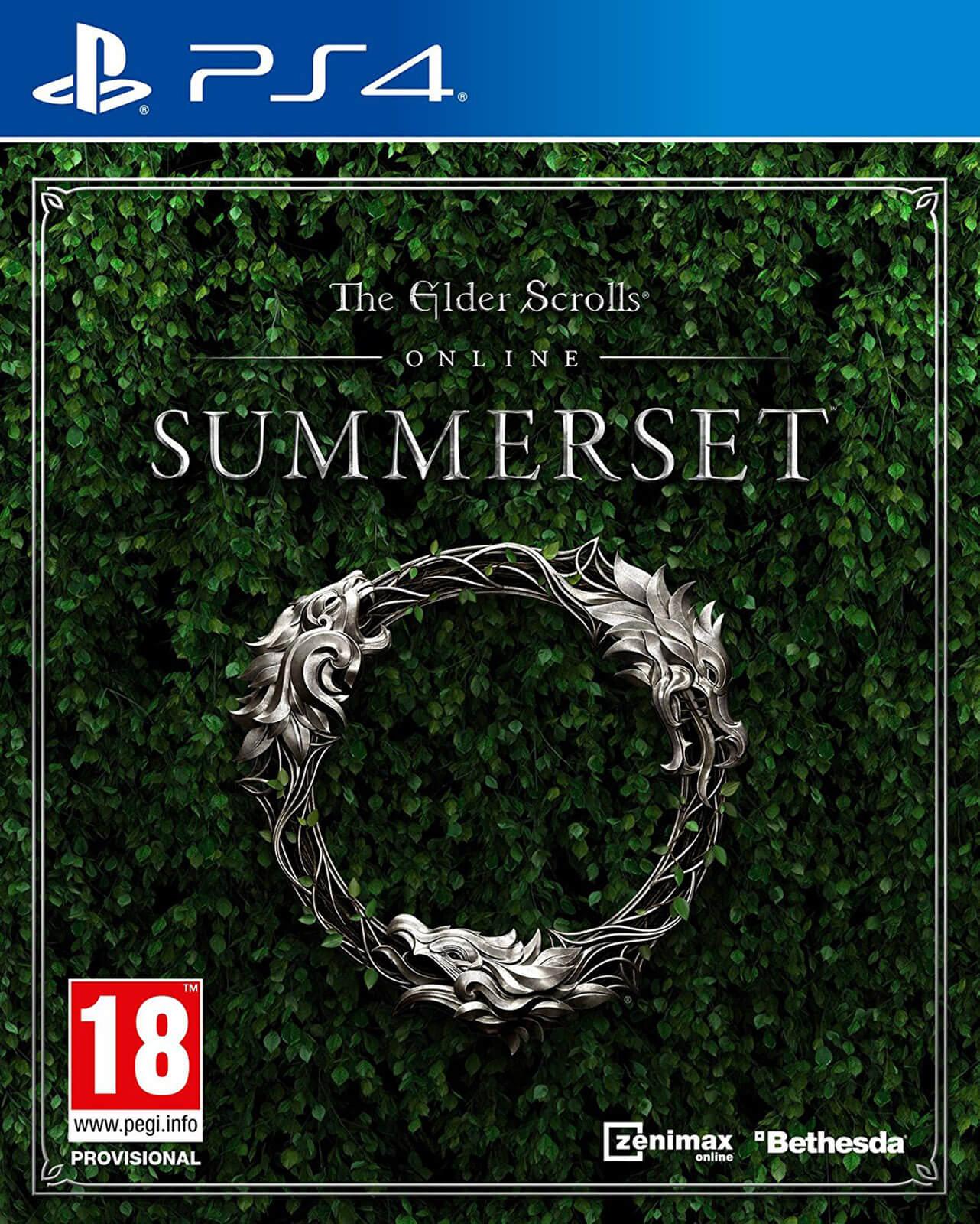 Juego The Elder Scrolls Online: Summerset PS4