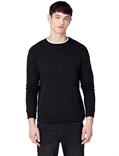 Jersey find. algodón negro (Schwarz)