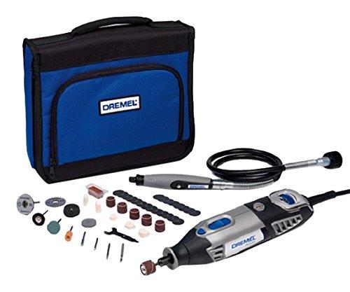 Dremel 4000 - Multiherramienta, 175 W, kit con 1 complemento, 45 accesorios
