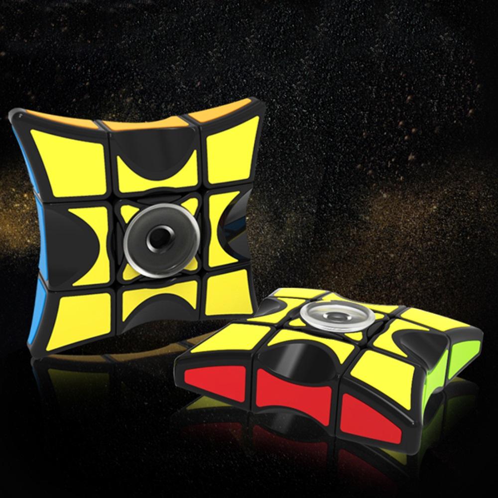 Fidget Spiner combinado con Cubo 1x3