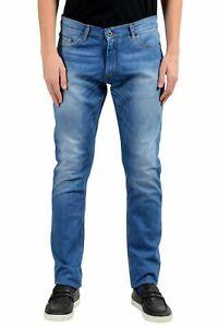 Jeans Roberto Cavalli Slim azul marino