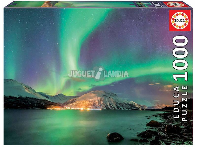 Educa puzzle 1000 piezas aurora boreal