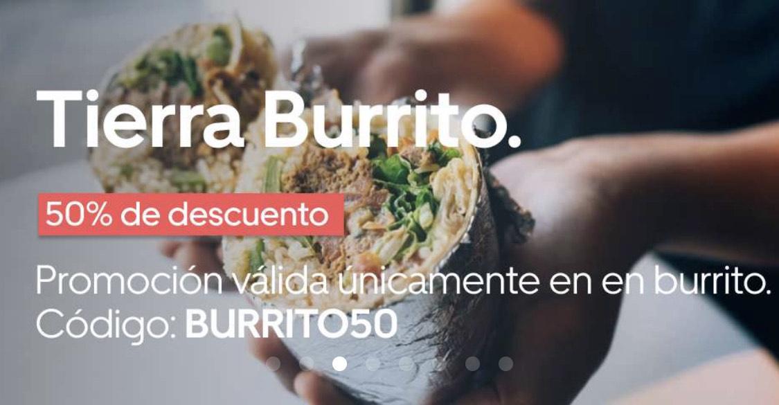 Tierra Burrito -50%