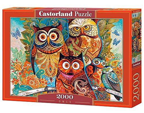 Puzzles CASTORLAND búhos 2000 piezas