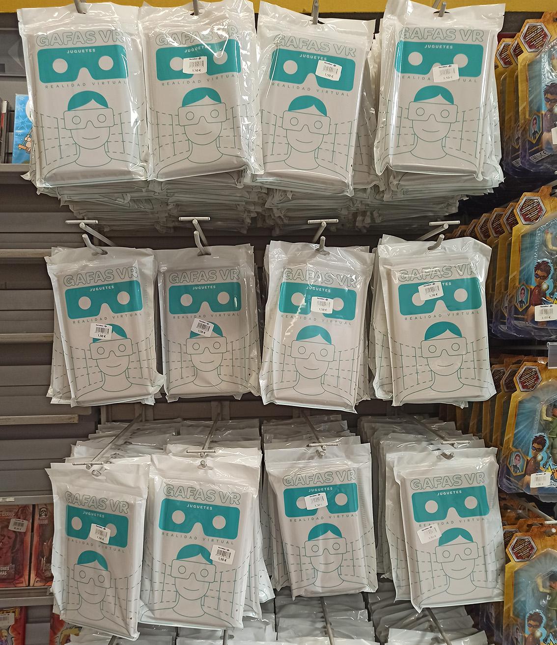 Gafas VR cartón, Carrefour El Prat de Llobregat