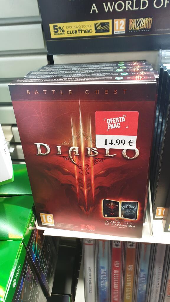 Diablo 3 más expansión para PC