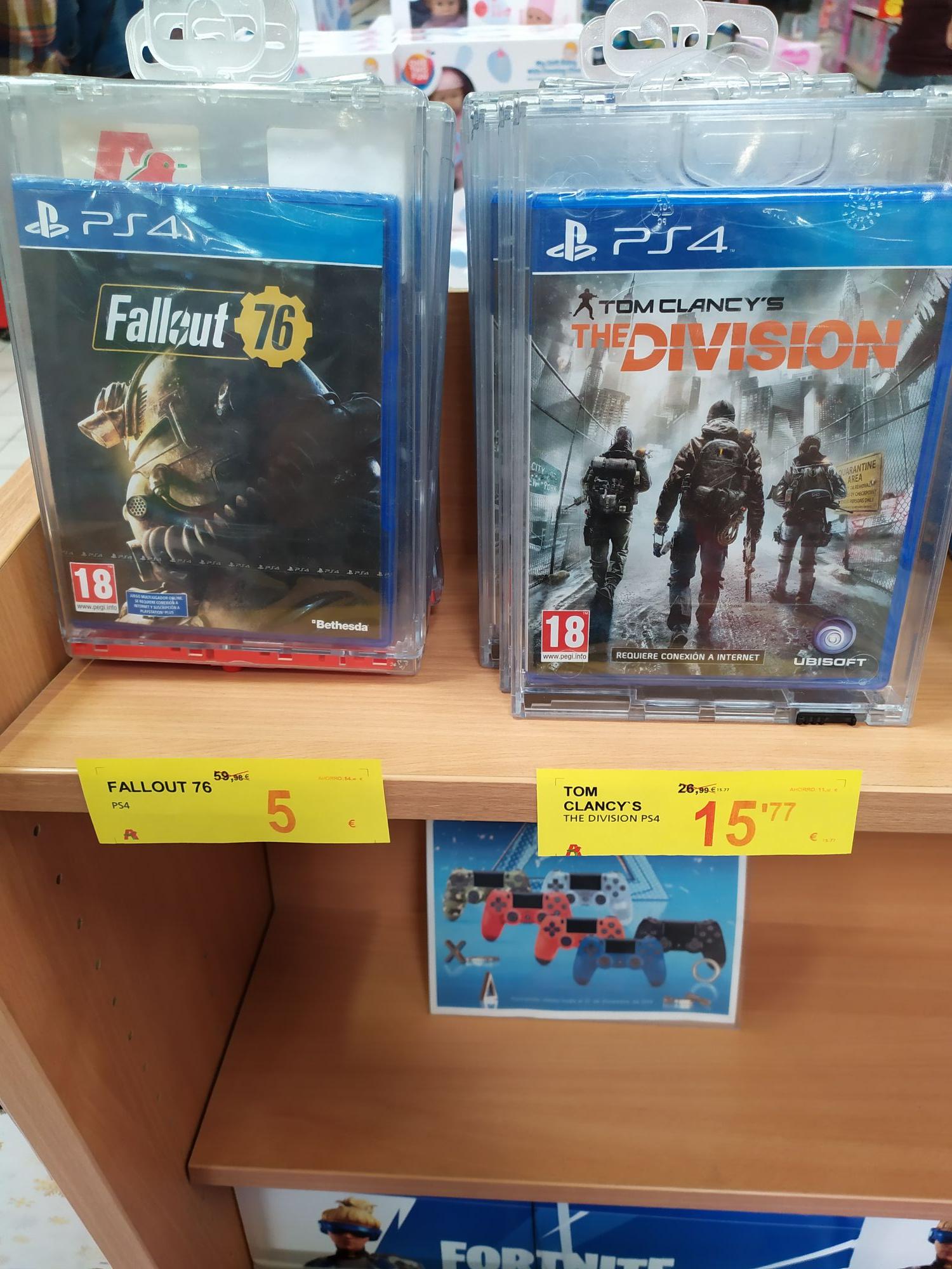 Fallout 76 físico a precio ridiculo