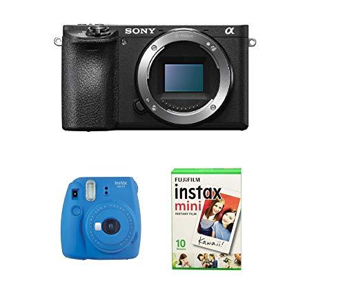 Sony a6500 + Fujifilm Instax Mini 9 + films