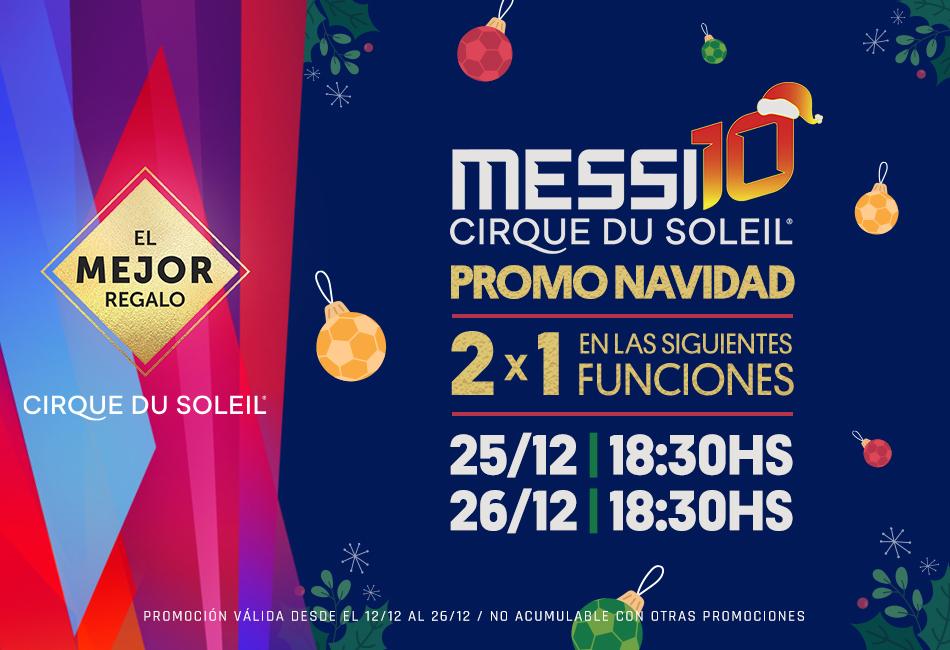 Messi10 by Cirque du Soleil al 50% - Show en Barcelona