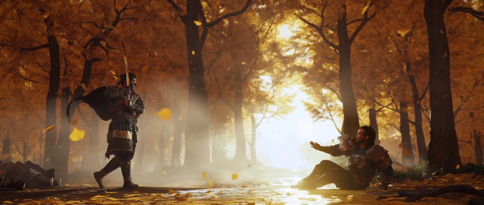 Tema Dinámico Gratuito Ghost of Tsushima PS4