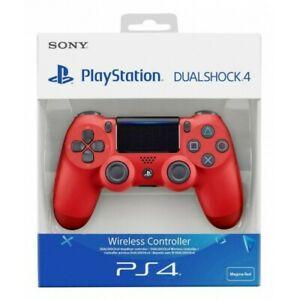 Mando PS4 SONY Dualshock 4 Rojo Magma