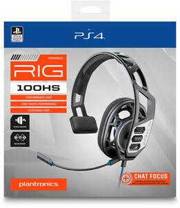 Auriculares para PS4 RIG 100HS