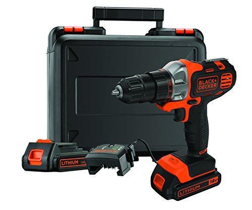 Multi herramienta Black&Decker con taladro y 2 baterías