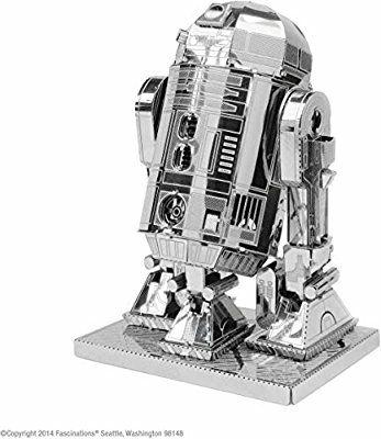 Star Wars-Maqueta de Metal 3D R2-D2