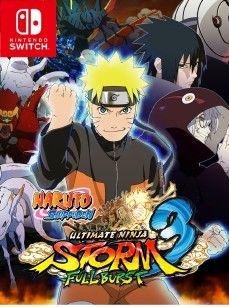 Naruto Shippuden Ultimate Ninja Storm 3 Full Burst Switch