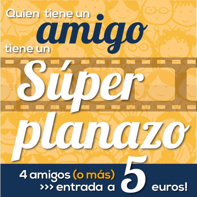 Entrada de cine a 5€ (solo en Murcia y Castellón)