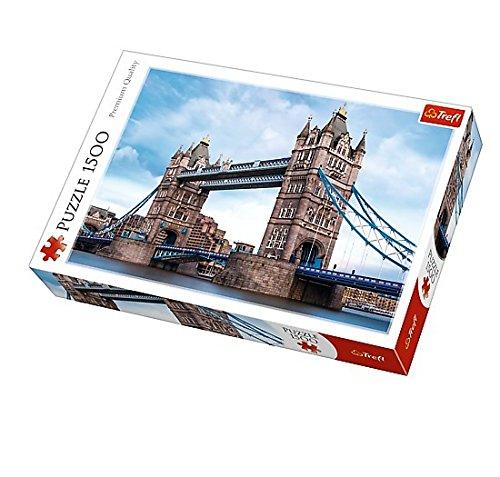 1500 piezas Puzzle Tower Bridge nad Tamiza