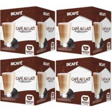 64 cápsulas Compatibles Dolce Gusto® Bicafe Café Con Leche