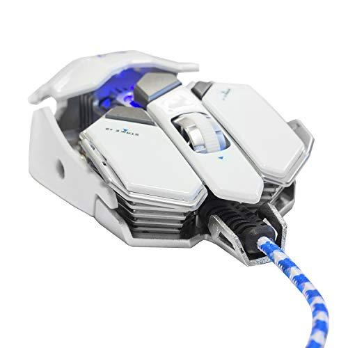Woxter Stinger GX 250 M White -Ratón gaming profesional