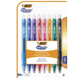 Blíster de 8 bolígrafos BIC