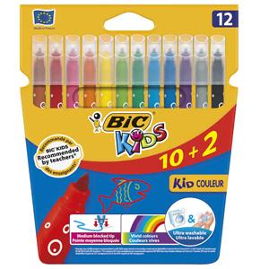 Caja de 12 rotuladores BIC Kids