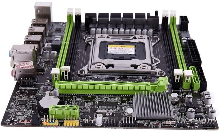 Placa base MICRO ATX Kllisre X79 LGA 2011 para XEON y memoria ECC