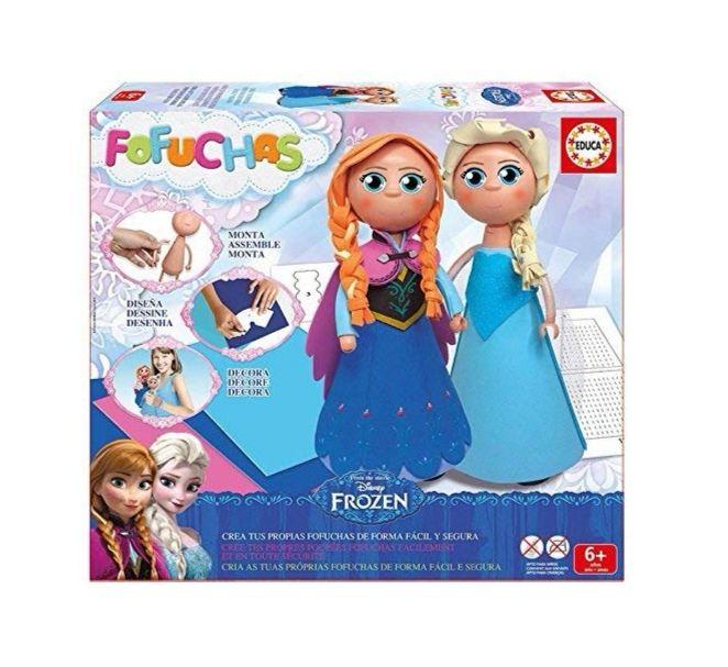 Fofuchas Frozen Elsa y Anna (Educa Borrás)
