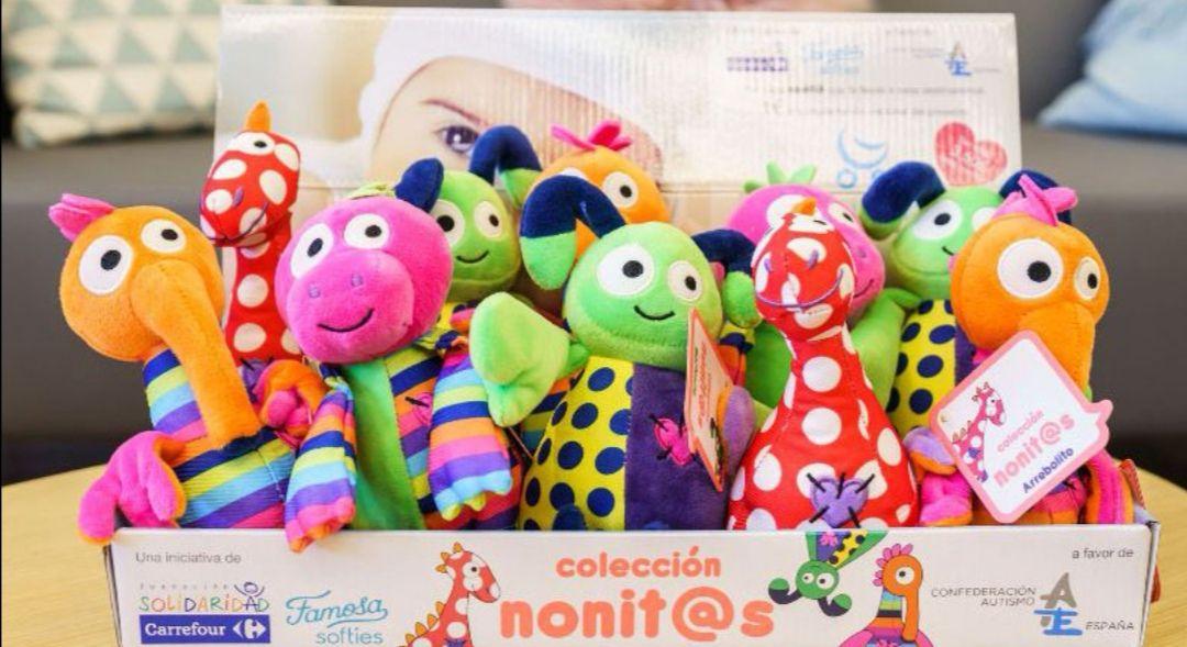 Fundación Solidaridad Carrefour pone a la venta peluches solidarios para luchar contra el autismo(TEA) .
