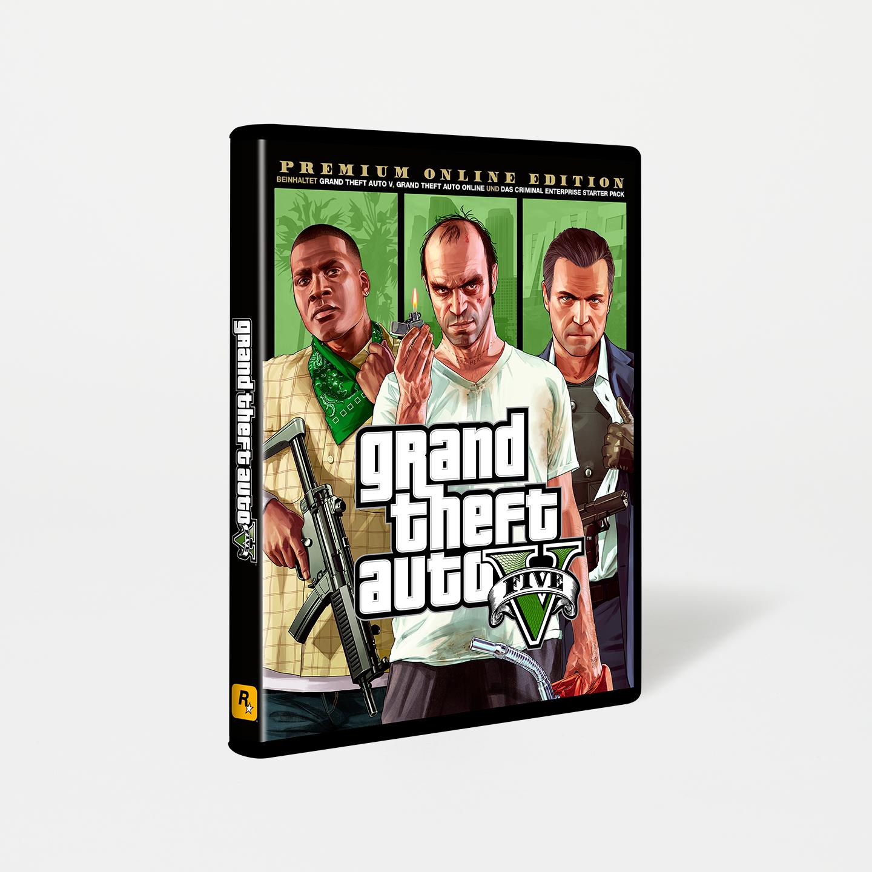 Grand Theft Auto V: Premium Online Edition, tienda oficial rockstar, incluye Dlc