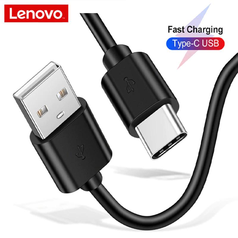 Lenovo tipo-c Cable de carga para teléfono móvil 5V 3A