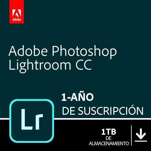 Adobe Photoshop Lightroom 1TB | 1 Año | PC/Mac