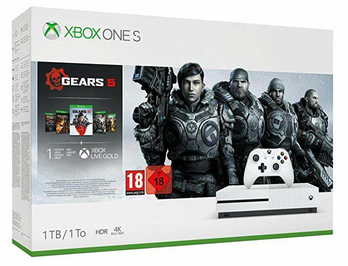 Xbox One S 1 Tb + Gears 5 Bundle
