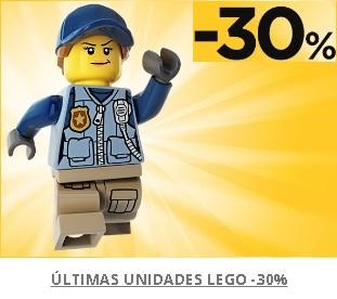 30% de descuento en Lego