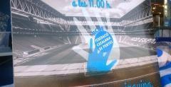 la Federació Catalana de Penyes del RCD Espanyol y la Agrupación de Veteranos del RCD Espanyol campaña 'Una entrada, un juguete'.